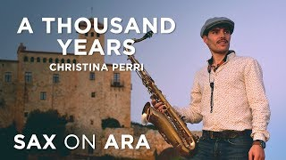 A Thousand Years - Saxophone Wedding Cover