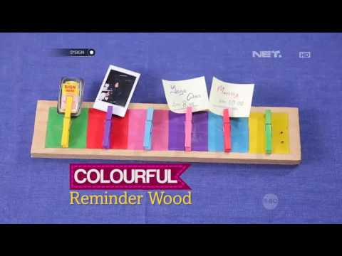 D'SIGN - DIY Colorful Remainder Wood