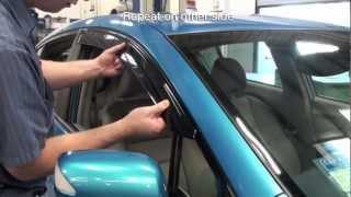 Honda Insight Door Visor Installation (Honda Answers #80)