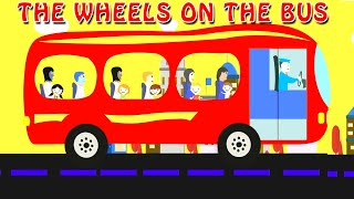 Wheels on the Bus 🚌 | English Nursery Rhymes | Animated | Story Bodhi| Rhymes and Stories for Kids