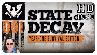 Let's Play State Of Decay  #001 Deutsch ★ Blutiges Campinglager ★ Gameplay German ★ HD [1080p]