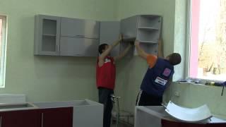Установка кухонной мебели(, 2014-07-30T12:45:44.000Z)