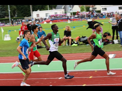 800m CAM - Championnats de France Cadets, Juniors DREUX, Juillet 2017