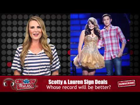 American Idol Scotty McCreery & Lauren Alaina Score Record Deals from YouTube · Duration:  1 minutes 18 seconds