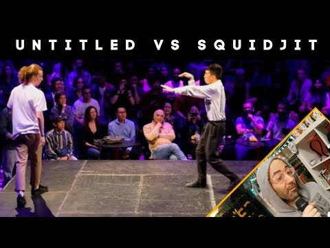 UNTITLED VS SQUIDJIT @ JOAT WITH COMMENTARY