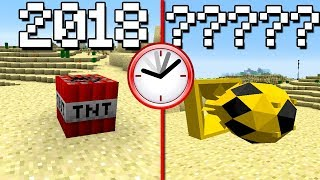 COMO SERÁ A TNT DO MINECRAFT DAQUI A 1000 ANOS?? (MAQUINA DO TEMPO MINECRAFT)