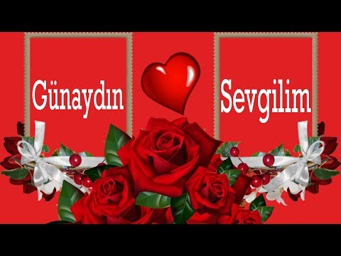 Sevgiliye Gunaydin Mesaji