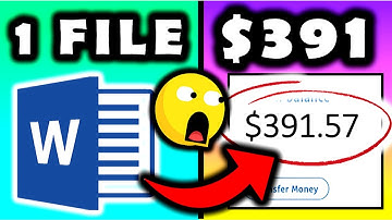 Get Paid $391.57 From Microsoft Words for FREE & WORLDWIDE! (Make Money Online)