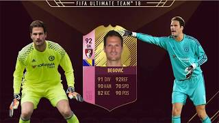 FIFA 18 FUTTIES BEGOVIC REVIEW | 92 FUTTIES BEGOVIC! PLAYER REVIEW | FIFA 18 ULTIMATE TEAM
