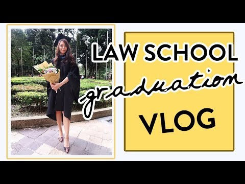 Law Graduation + Awards | LAW SCHOOL VLOG #25