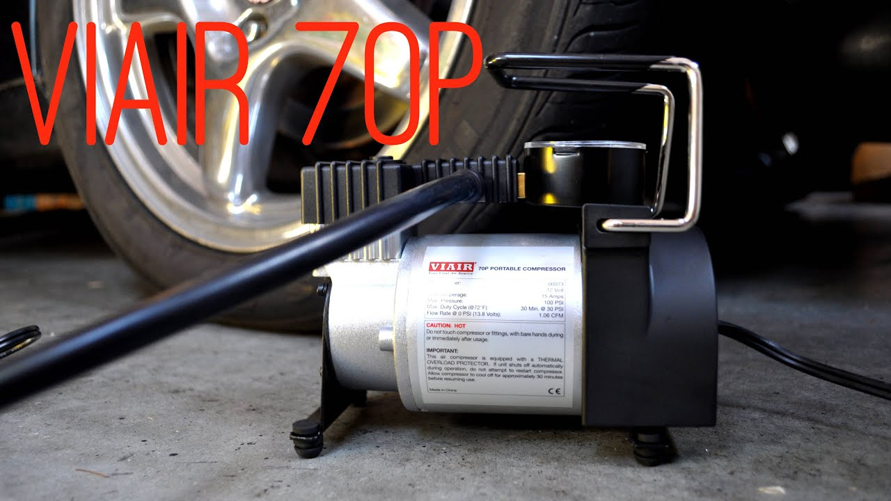 Viair 70p Compressor Unboxing And