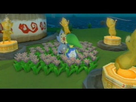 The Legend Of Zelda The Wind Waker Hd All Tingle Statues And