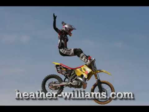 Motocross Girl X GAMES Freestyle Heather Williams