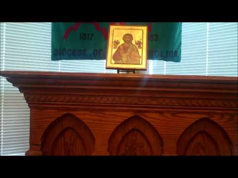 Nov/6/2011 All Saints, Southern Shores, Bishop Marray