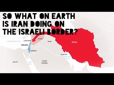 What on earth is iran doing on the israeli border youtube what on earth is iran doing on the israeli border gumiabroncs Image collections