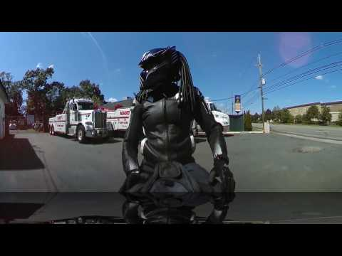 #predator wolf helmet zx10r : Ride to Philly Bike fest  360fly VR these girls can ride!!!