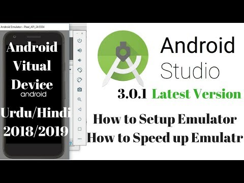 Create Android Virtual Device Emulator For Android Studio 2018