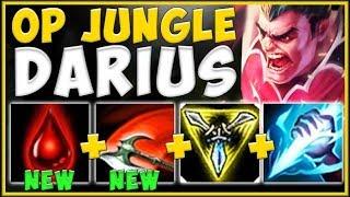 RIOT JUST TURNED DARIUS INTO BEST JUNGLE?? DARIUS SEASON 10 JUNGLE GAMEPLAY! - League of Legends