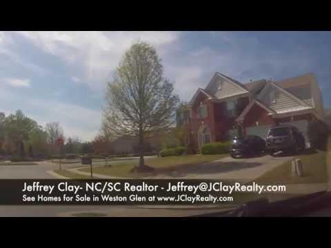 Weston Glen Homes for Sale Charlotte NC
