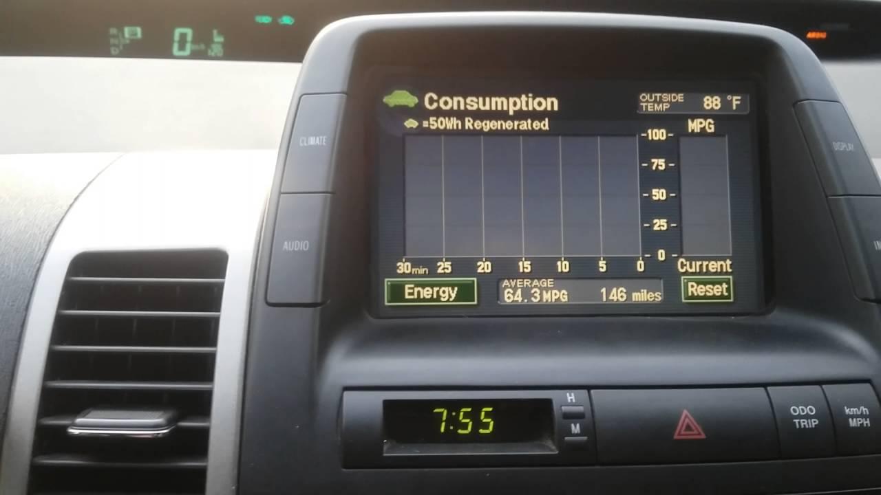 2007 Prius Mpg Geomotors Geoparts