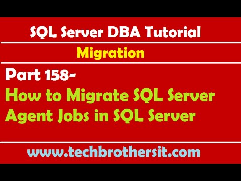 Sql server dba tutorial 158 how to migrate sql server for Consul server vs agent