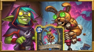 Hearthstone: Playing Pogo Rogue For 80 Gold Challenge With My Friends | Saviors of Uldum