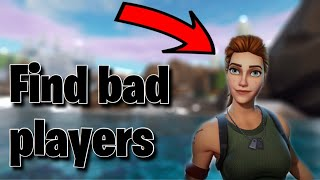 How to play fortnite MOBILE with BOTS!! (bad players)