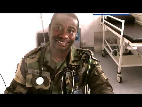 UN peacekeeping doctor UNMISS