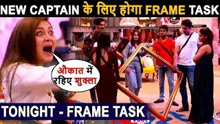 Biggboss 13, Siddharth shukla won Frame Task, New Captain Himanshi, shefali's shocking Decision