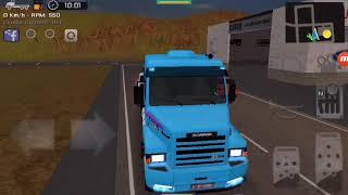Grand truck simulator gameplay com o Scania 113h