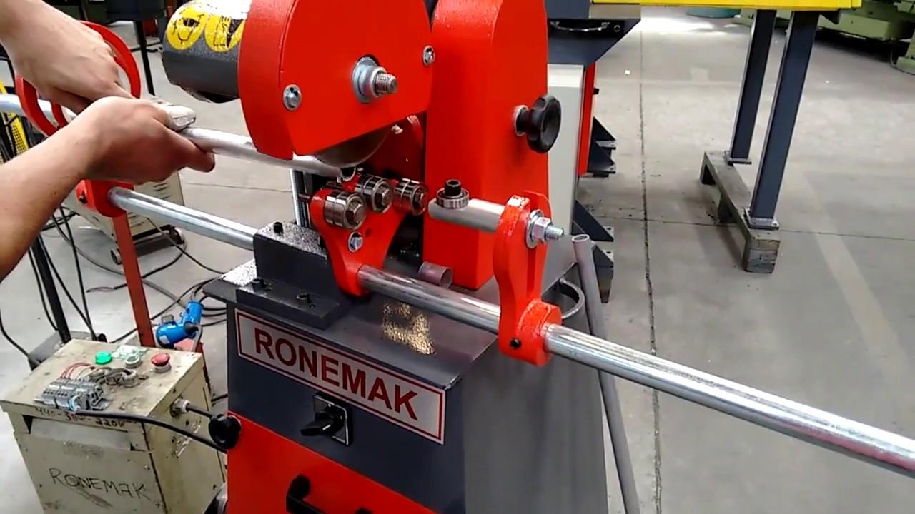 Ronemak corta tubos t4 teste de corte com tubo de - Tubo de aluminio ...
