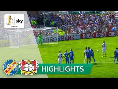 1. CfR Pforzheim - Bayer 04 Leverkusen 0:1   Highlights DFB-Pokal 2018/19 - 1. Runde