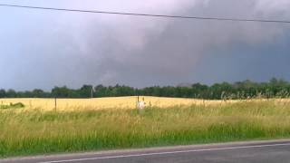 Tornado near Middletown Indiana