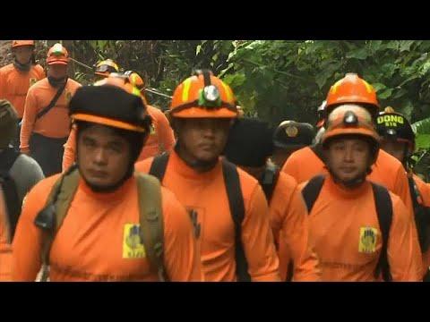 Seis meninos já foram libertados da gruta na Tailândia
