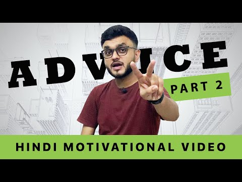 Advice PART 2 | Motivational Advice in HINDI | Vasant Chauhan