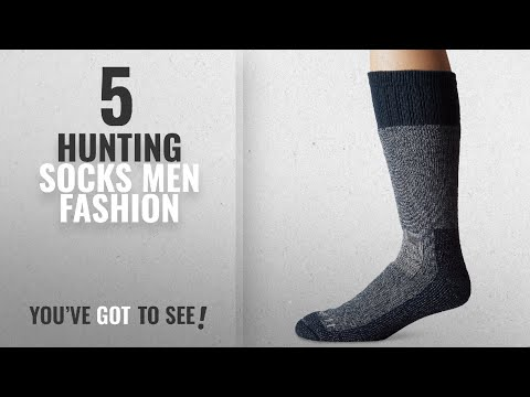 Top 10 Hunting Socks [Men Fashion Winter 2018 ]: Carhartt Men's Extremes Cold Weather Boot Socks,