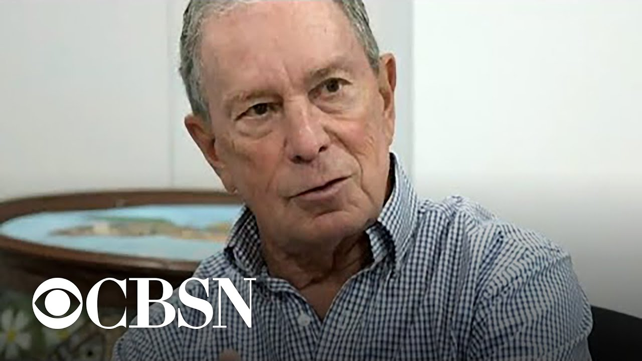 Former New York Mayor Michael Bloomberg Is Running For President