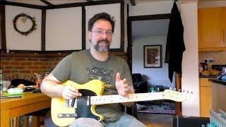Three Great Jimi Hendrix Guitar Licks - Chappers Kitchen Guitar Education