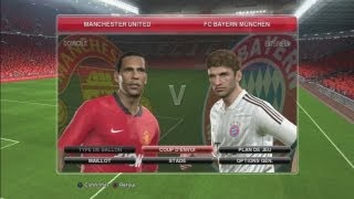 Demo PES 2014 Manchester United - FC Bayern Munich (Gameplay PS3)