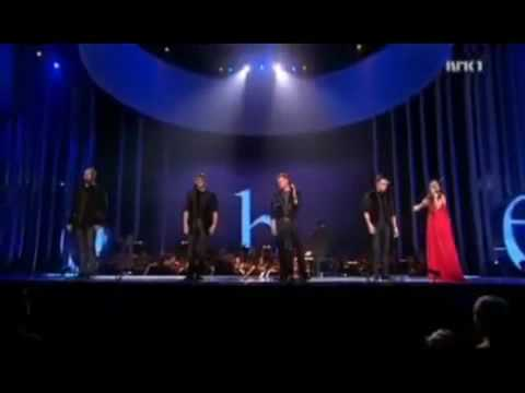 WESTLIFE  YOU RAISE ME UP  NOBEL PEACE PRIZE 2009 CONCERT   11DIC09