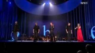 WESTLIFE - YOU RAISE ME UP - NOBEL PEACE PRIZE 2009 CONCERT  - 11/DIC/09