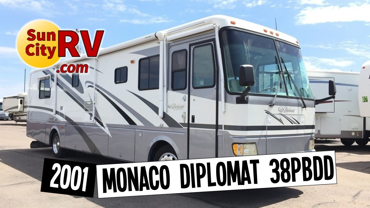 Monaco Diplomat 38PBDD For Sale Phoenix RV 2001
