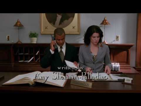 Gilmore Girls pilot: Michel  I'm sorry, we are completely booked.