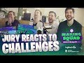 Making The Squad Jury Reacts to Challenges | G2 Esports Fortnite