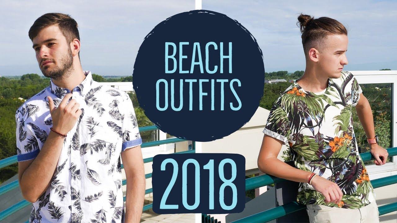 Beach Outfits for Men – Summer Lookbook 2018