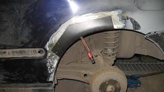 Кузовные работы(Кузовные работы или как избавиться от ржавчины. Пример для начинающего жестянщика. Кузовной ремонт своими..., 2015-06-29T01:53:14.000Z)