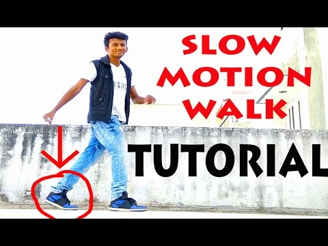 How to do the Slow Motion Walk?|| Nishant Nair Tutorial