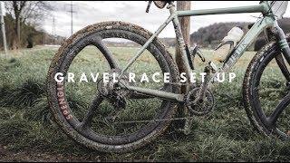 GRAVEL RACE IN SWITZERLAND // BIKE SET UP