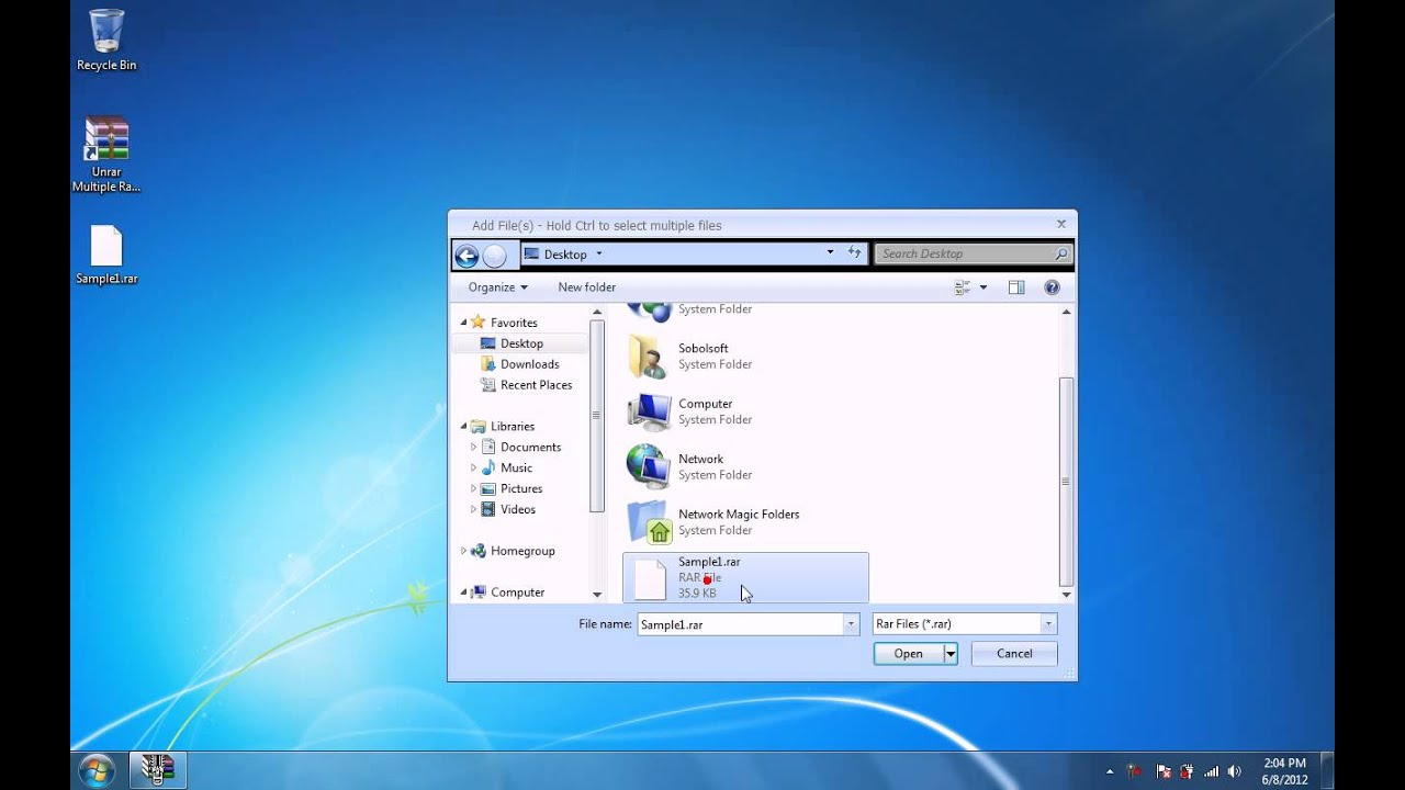 How To Use Unrar Multiple Rar Files At Once Software