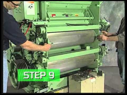 CPM Roskamp - How to change rolls on a Roskamp Series 900/999 Roller Mill